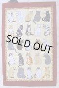 猫のキッチンクロス Cat Galore 円高還元20%OFF