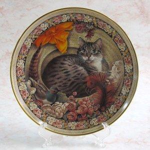 画像1: 【レズリー・アン・アイボリー】CATSの絵皿 Gemma as the Old Gumbie Cat: Vintage