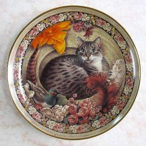 画像2: 【レズリー・アン・アイボリー】CATSの絵皿 Gemma as the Old Gumbie Cat: Vintage