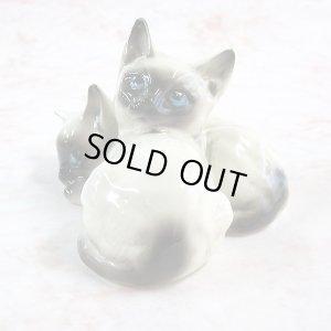 画像2: 【ロイヤル・ドルトン】猫の置き物 #1296:ヴィンテージ