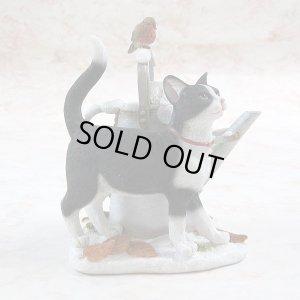 画像5: 【シェラット&シンプソン仔猫の置き物 】Cat with Watering Can