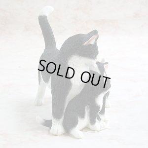 画像4: 【シェラット&シンプソン】猫の置き物 Cat Standing with Two Kittens