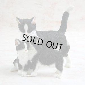 画像1: 【シェラット&シンプソン】猫の置き物 Cat Standing with Two Kittens