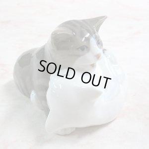 画像4: 【ロイヤル・コペンハーゲン】猫の置き物 #303:ヴィンテージ