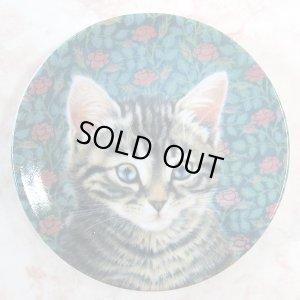 画像2: 【レズリー・アン・アイボリー】猫のミニ絵皿 Christie : Vintage