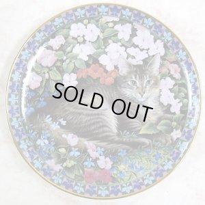画像2: 【レズリー・アン・アイボリー】猫の絵皿 Tabitha in Bizzie-Lizzies : Vintage