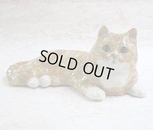 画像1: 【ウィンスタンレイ・キャット】猫の置き物45