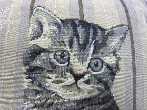 画像5: 猫のゴブラン・クッションカバー(Cat)