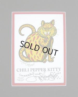 画像1: 【ジェイミー・ヘイエス】Chili Pepper Cat